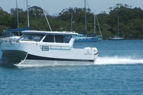 SeaSki Side Profile